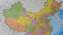 """Bản đồ dọc mới phát hành của Trung Quốc """"nuốt"""" Biển Đông bằng """"đường 10 đoạn"""""""