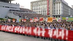 Chùm ảnh: Bình Nhưỡng rầm rộ kỷ niệm 64 năm chiến tranh Triều Tiên