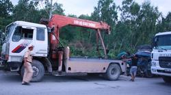 Nghệ An: Xe tải đối đầu, QL1A kẹt cứng hàng chục kilômét