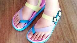 Sandal màu sắc cho mưa Sài Gòn, mưa Hà Nội