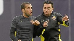 Thải loại Xavi - Alves, Barcelona tiết kiệm 24 triệu euro