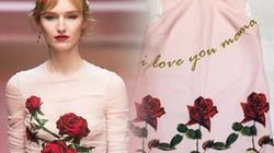 Váy hoa hồng nhái hàng hiệu nhan nhản ở Hà Nội