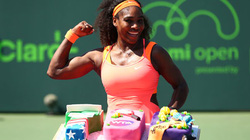 Miami Open: Murray, Serena Williams thắng chật vật