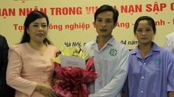 Bệnh nhân nặng nhất vụ sập giàn giáo ở Hà Tĩnh xuất viện