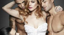 Lindsay Lohan tái xuất khêu gợi trên tạp chí đàn ông