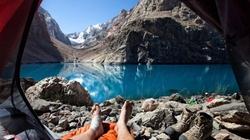 Những bức ảnh thiên nhiên đẹp lung linh chụp từ lều trại