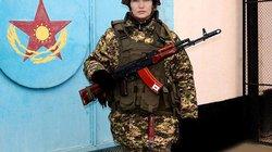 """""""Mỹ nhân"""" quân đội Kazakhstan đọ sắc qua ảnh"""