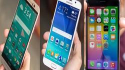Cân đo 3 siêu phẩm Galaxy S6, One M9 và iPhone 6