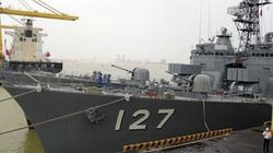 Hai chiến hạm tự vệ biển Nhật Bản sắp thăm Đà Nẵng