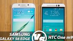 Galaxy S6 Edge được lòng người dùng hơn HTC One M9
