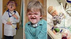 Hành trình 50 lần phẫu thuật đầy gian khổ của cậu bé 7 tuổi