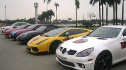 Dàn siêu xe biển TP HCM xuất hiện ở Hà Nội