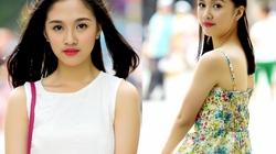 Hoa khôi Tràng An xinh tươi dạo phố Hà Nội