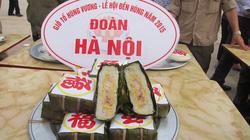 Hà Nội giành giải nhất thi gói bánh chưng tại Phú Thọ