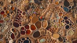 """Cánh đồng muối đất sét """"độc nhất vô nhị"""" ở sa mạc Sahara"""
