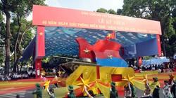 Ảnh: Hùng tráng lễ diễu binh mừng ngày thống nhất đất nước