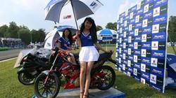 Ngắm những chân dài xinh đẹp ở giải đua xe VĐQG
