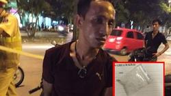 Gặp 141, nuốt nguyên gói nilon nghi ma túy để phi tang