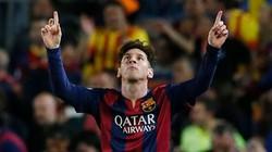 Messi lập cú đúp, Barca đặt một chân vào chung kết