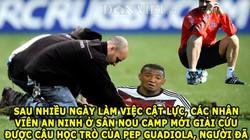 ẢNH CHẾ: Barca đào sân cứu Boateng, lộ cách ngăn cản Messi