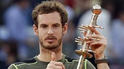 Madrid Open: Đả bại Nadal, Murray lên ngôi vô địch