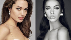 """Ngỡ ngàng ngắm """"Angelina Jolie"""" phiên bản Việt"""