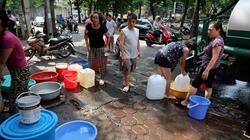 Công ty nước sạch cam kết cấp đủ nước cho người dân Thủ đô