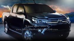 Toyota Hilux Revo 2016 sắp trình làng