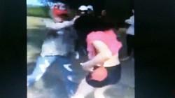 Nữ sinh đánh nhau chảy máu mặt từ thách thức trên facebook