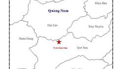 Lại xảy ra động đất ở Quảng Nam