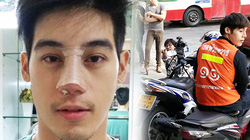 Chàng xe ôm điển trai nhất Thái Lan khoe ảnh dao kéo