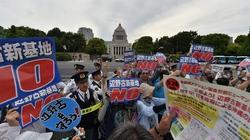 Nhật: Hàng nghìn người vây Quốc hội, phản đối căn cứ mới của Mỹ