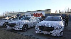 Mercedes-Benz E-Class trên đường thử