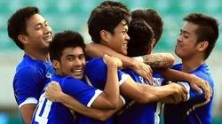 Pombuppha ghi 4 bàn, U23 Thái Lan hạ gục U23 Lào