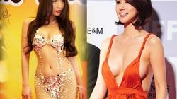 """1001 kiểu váy thảm đỏ """"bỏng mắt"""" của sao Hoa – Hàn"""