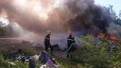 Đốt phế liệu, nguy cơ hỏa hoạn cao