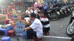 Lộn xộn trước cổng Bệnh viện Việt Đức