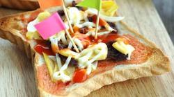 Làm bánh Pizza cho bữa sáng chỉ với 10 phút