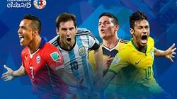 Lịch thi đấu giải bóng đá Copa America 2015