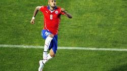 """Chile bị cầm hòa trong màn rượt đuổi tỷ số """"nghẹt thở"""""""