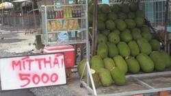 Mít Thái đầy vườn, giá tuột dốc không phanh