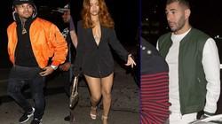 """Benzema gặp """"tình địch"""" khi đang bí mật hẹn hò Rihanna"""