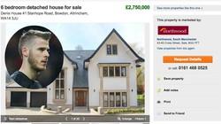 De Gea chính thức rao bán nhà ở Manchester