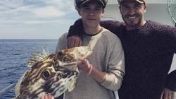 """Cha con Beckham phớt lờ cảnh báo về """"cá ăn tinh hoàn"""""""