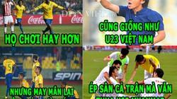 ẢNH CHẾ: Brazil giống U23 Việt Nam, Van Gaal chế nhạo Liverpool