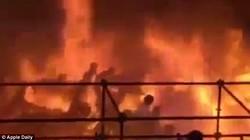 Đài Loan: Cầu lửa bao trùm công viên nước, hơn 200 người bị thương