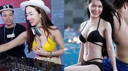 """HN: Nam thanh nữ tú mình trần """"quẩy tung"""" bể bơi"""