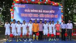 Giải bóng đá giao hữu Vedan-Liên quân báo chí chào mừng Ngày Gia đình và Báo chí CM Việt Nam