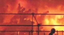 """Đài Loan: Nhiều người bị """"lột da"""" trong địa ngục lửa"""