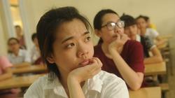 Chùm ảnh: Những ánh mắt lo lắng trước ngày thi